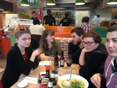 Giorgiana, Marion, Nico, Carla and Daniel