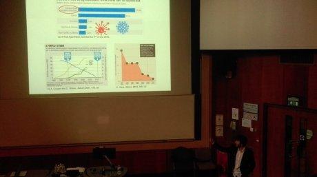 Nacho presenting antibiotic resistance challenge